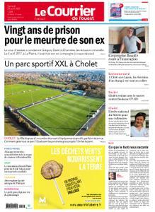 Le Courrier de l'Ouest Cholet – 24 avril 2021