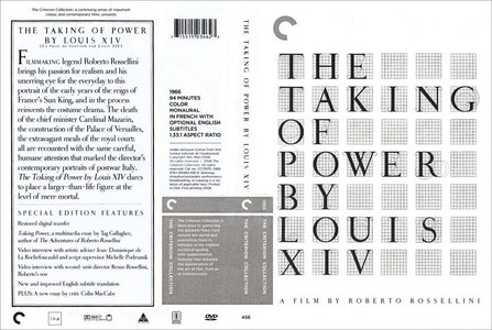 The Taking of Power by Louis XIV (1966) [The Criterion Collection #456 - OUT OF PRINT]