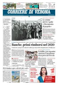 Corriere di Verona – 25 aprile 2019