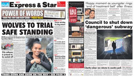 Express and Star City Edition – January 29, 2019