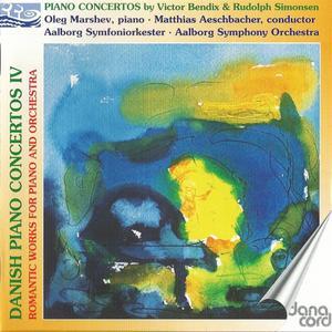 Oleg Marshev, Matthias Aeschbacher - Danish Piano Concertos, Vol. 4: Victor Bendix, Rudolph Simonsen (2006)