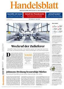 Handelsblatt - 31. Juli 2019