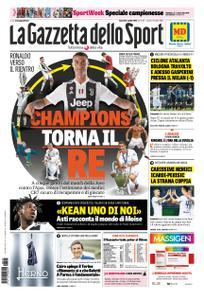 La Gazzetta dello Sport Roma – 05 aprile 2019