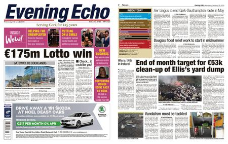 Evening Echo – February 20, 2019