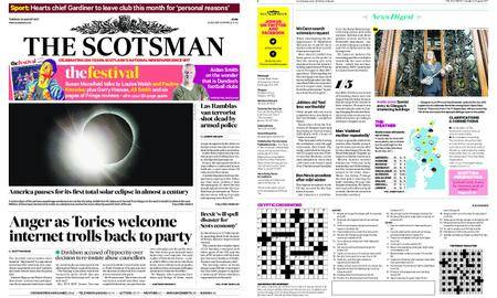 The Scotsman – August 22, 2017