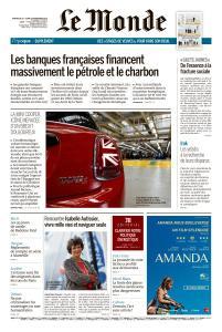 Le Monde du Dimanche 25 et Lundi 26 Novembre 2018
