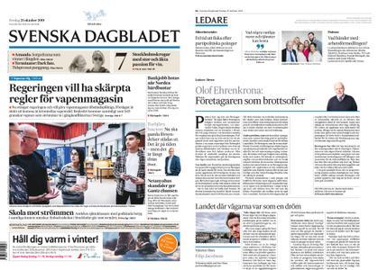 Svenska Dagbladet – 25 oktober 2019