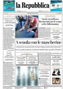 la Repubblica - 20 Agosto 2020