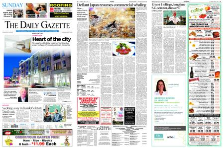 The Daily Gazette – April 07, 2019