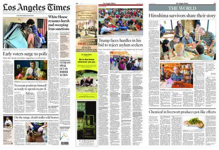 Los Angeles Times – November 03, 2018