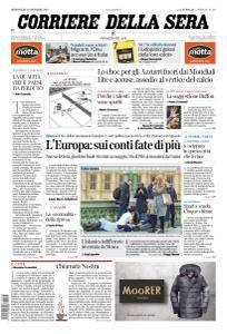 Corriere della Sera - 15 Novembre 2017