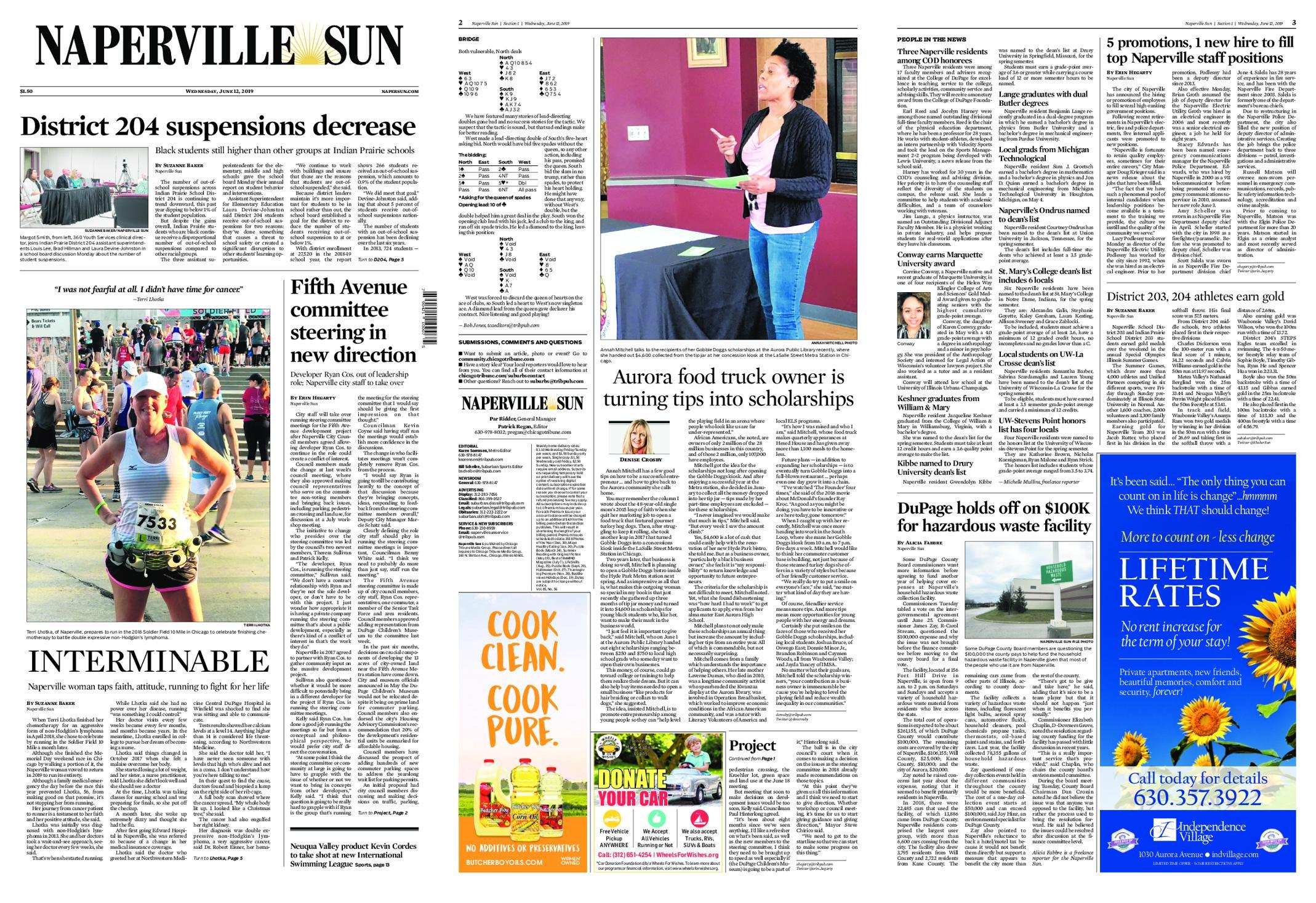 Naperville Sun – June 12, 2019