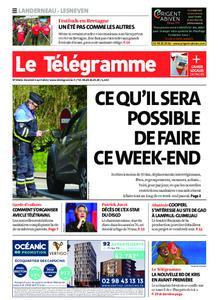 Le Télégramme Landerneau - Lesneven – 02 avril 2021