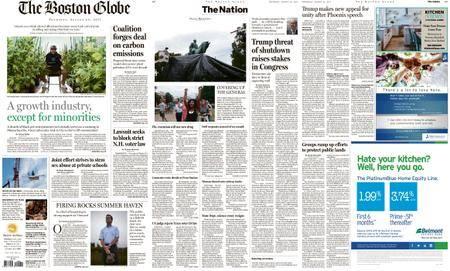 The Boston Globe – August 24, 2017