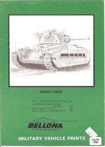 Bellona Military Vehicle Prints: series three