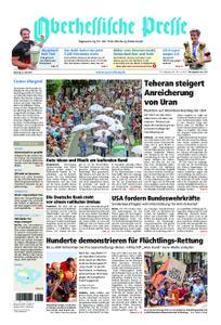 Oberhessische Presse Marburg/Ostkreis - 08. Juli 2019