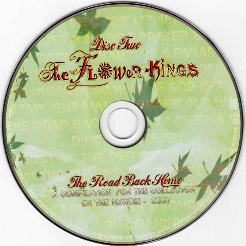 The Flower Kings - The Road Back Home (2007)