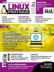 Linux Pratique - Mai-Juin 2019
