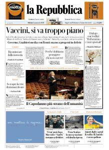 la Repubblica - 2 Gennaio 2021