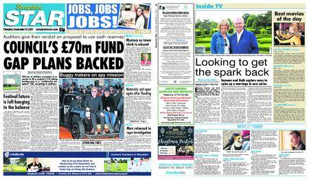 Shropshire Star Shrewsbury Edition – September 21, 2017