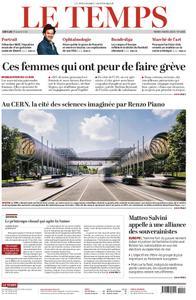Le Temps - 09 avril 2019