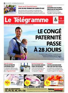 Le Télégramme Ouest Cornouaille – 01 juillet 2021