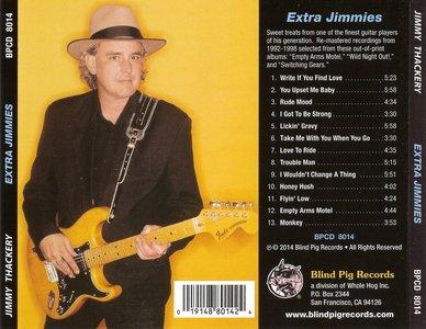 Jimmy Thackery - Extra Jimmies (2014)