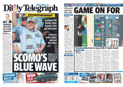 The Daily Telegraph (Sydney) – May 20, 2019