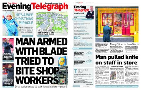Evening Telegraph First Edition – December 20, 2018