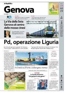 la Repubblica Genova - 19 Marzo 2019