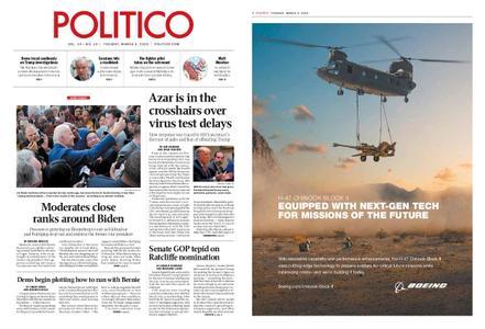 Politico – March 03, 2020