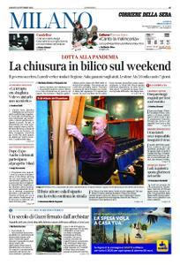 Corriere della Sera Milano – 31 ottobre 2020
