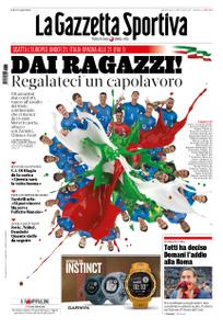 La Gazzetta dello Sport – 16 giugno 2019