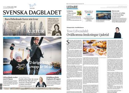 Svenska Dagbladet – 23 december 2018