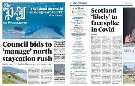 The Press and Journal Moray – March 11, 2021