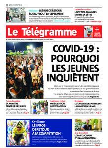Le Télégramme Quimper – 28 juillet 2020