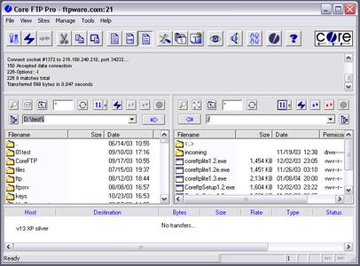 Core FTP Pro 2.2 Build 1955