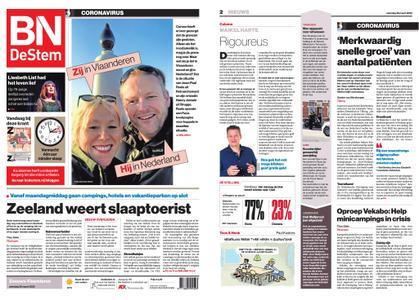 BN DeStem - Zeeuws-Vlaanderen – 28 maart 2020