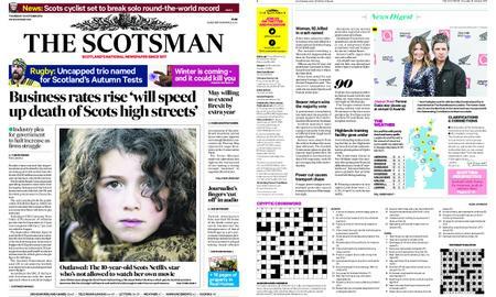 The Scotsman – October 18, 2018