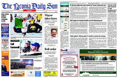 The Laconia Daily Sun – September 26, 2017