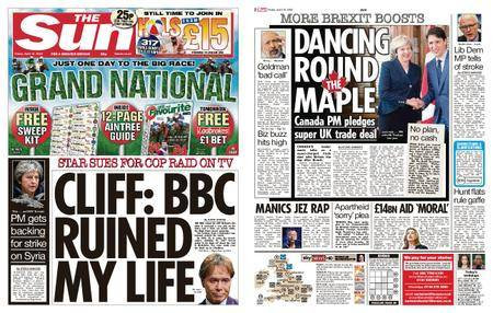 The Sun UK – 13 April 2018