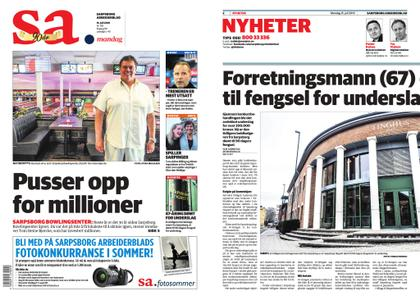 Sarpsborg Arbeiderblad – 15. juli 2019