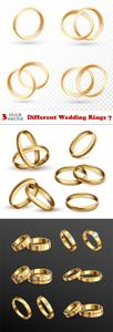 Vectors - Different Wedding Rings 7