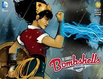DC Comics - Bombshells 014 2015 Digital