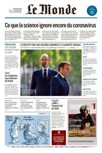 Le Monde du Mercredi 13 Mai 2020