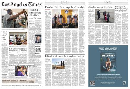 Los Angeles Times – August 11, 2021