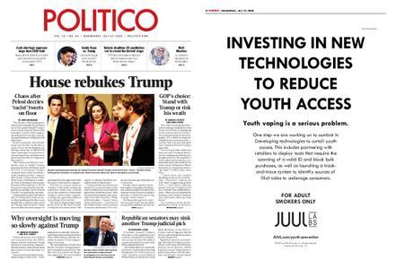 Politico – July 17, 2019