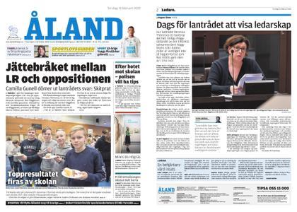 Ålandstidningen – 13 februari 2020