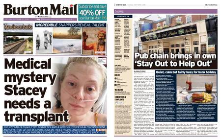 Burton Mail – September 01, 2020