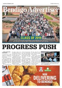 Bendigo Advertiser - September 3, 2019